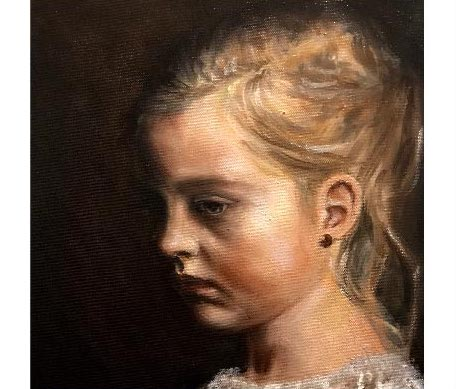 Portrait of Young Girl II