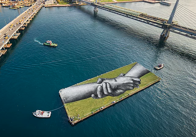 Saype İstanbulluları Land Art İle Tanıştırdı | Yazan Fulden Karayel