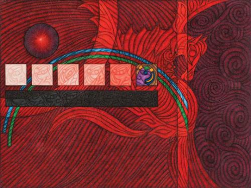 Ahmet Güneştekin, NY Marlborough Galeri' de Yazan: Eda Aksoy