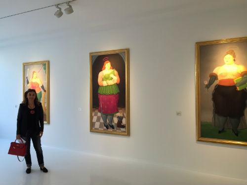 Botero'nun Kadınları Zürih'te | Yazan Banu Çarmıklı