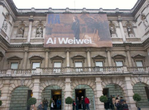 Ağaçları Kadar Özgür Ai Weiwei Londra'da | Yazan Selen Sarıoğlu