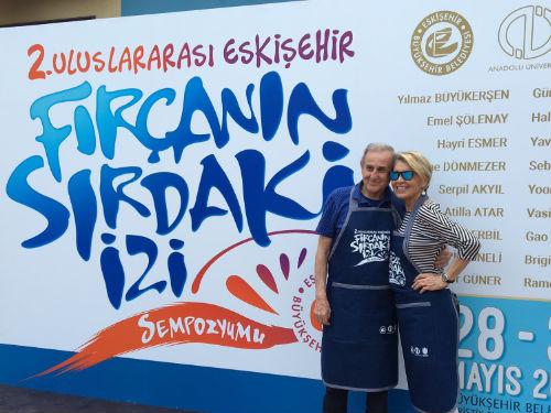 2. Uluslararası Fırçanın Sırdaki İzi Sempozyumu, Eskişehir | Yazan İnci Aksoy