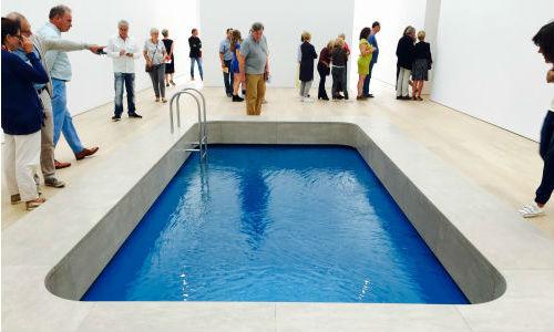 Yüzme Havuzlu Müze : Museum Voorlinden | Yazan Öznur Gorissen