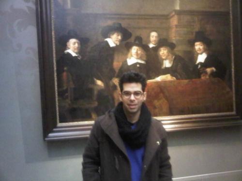 Amsterdam'da Ulusal Sanat Galerisi Rijksmuseum