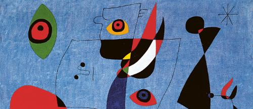 Resimlerin çocuksu şairi Joan Miró, Grand Palais'de… | Yazan Ayşe Kırca