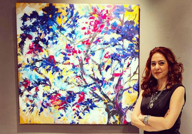 Ressam Nebahat Karyağdı, 3. Uluslararası Barcelona Sanat Bienali'nde | ARTtvNews