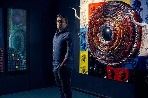Ahmet Güneştekin, Kunstforum Viyana'da | ARTtvNews
