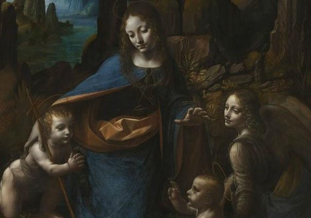 Leonardo Da Vinci ve Başyapıtlarından Kayalıklar Bakiresi  | Yazan Nurdan Ateş