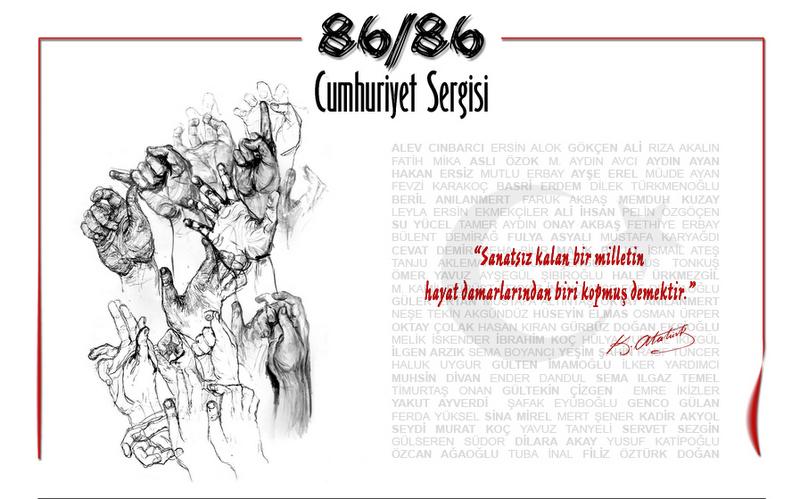 86/86 Cumhuriyet Sergisi