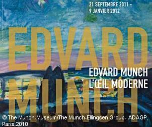 Edvard Munch Centre Pompidou'da