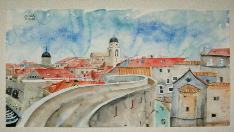 """Larisa Bolshakova-""""My Cities""""-Galeri Merkür"""