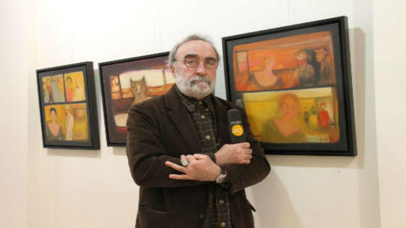 """Mehmet Güreli- """"Kumsalda Yürür Gibi""""- Artium Sanat Evi"""