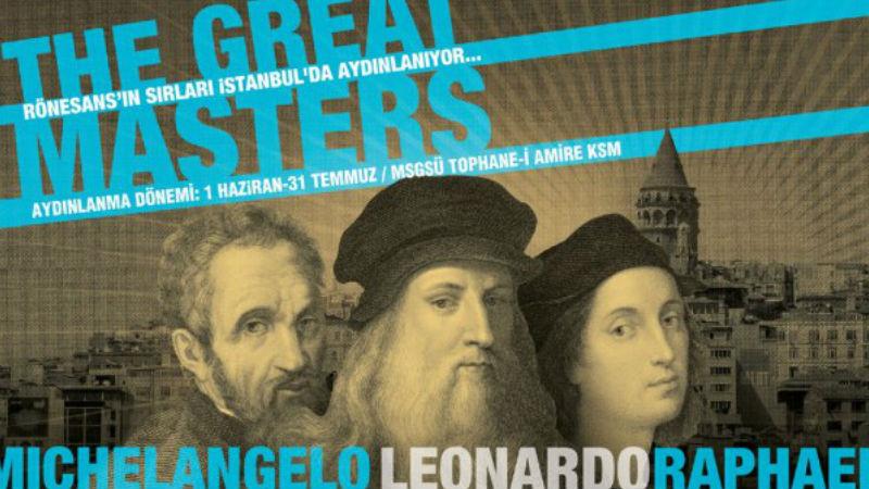 The Great Masters - Michelangelo - Leonardo - Raphael