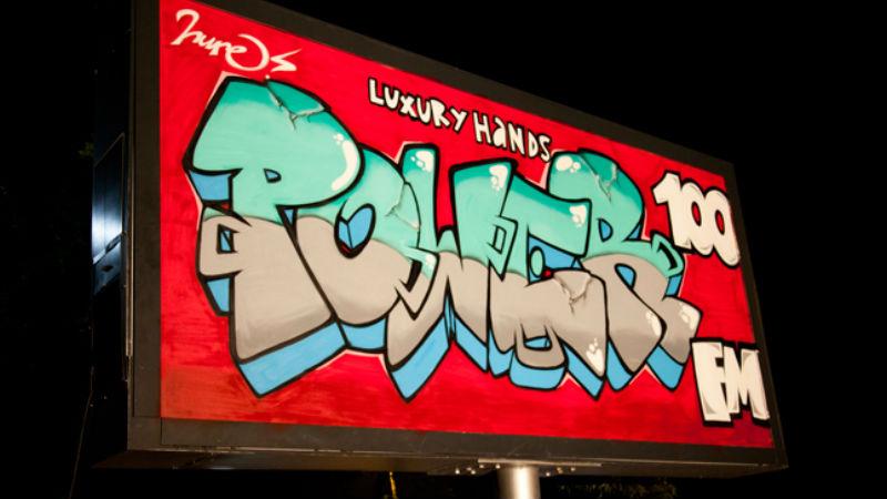 10 Graffiti Sanatçısı/ 10 Megaboard-  From The Streets Of Istanbul - Power FM