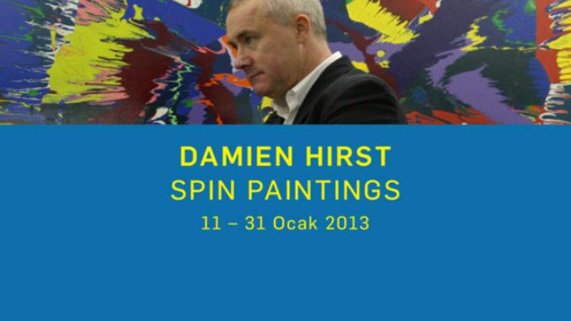Damien Hirst İstanbul da