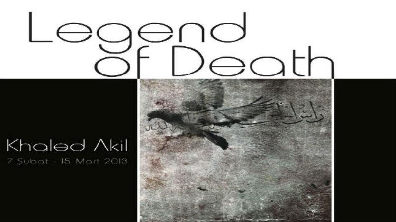 Khaled Akil-Legend of Death-Chalabi Art Gallery