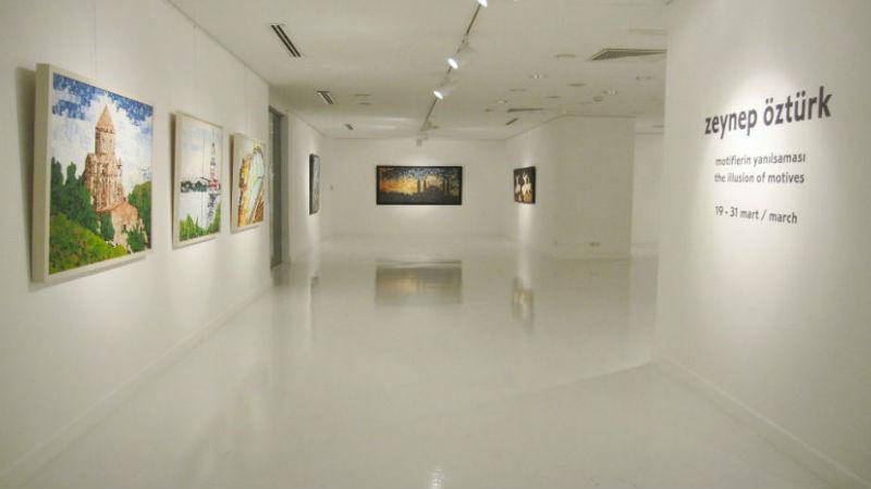 Zeynep Öztürk-Motiflerin Yanılsaması-Ekavart Gallery