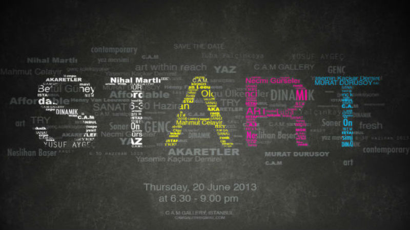 Start! 'Art within Reach'-Karma Sergi-C.A.M Galeri