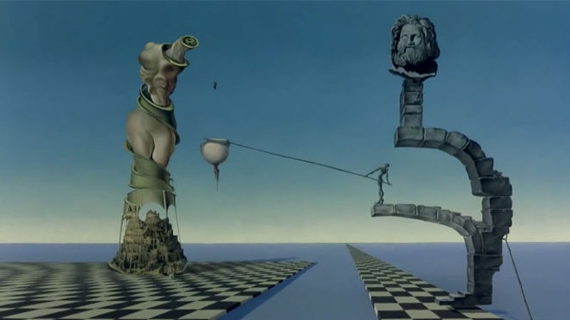 Salvador Dali & Walt Disney - Destino - Animasyon
