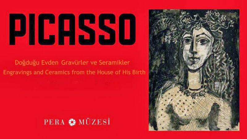 Picasso-Doğduğu Evden Gravürler ve Seramikler-Pera Müzesi