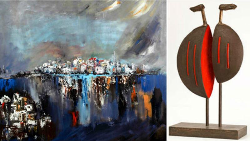 Gül Erali  ve Hale Karaçelik-Doruk Sanat Galerisi