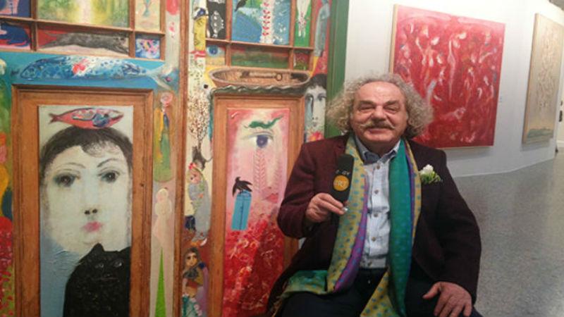 Muzaffer Akyol   İrkildim Uyandım, Bir Daha Uyumadım   Kibele Sanat Galerisi