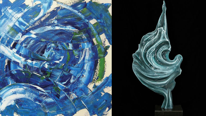 Aydın Arkun | Nilay Özenbay | Soyut Yansımalar | Ekavart Gallery