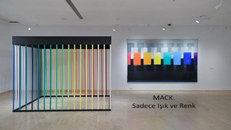 Heinz Mack | MACK. Sadece Işık ve Renk | Sakıp Sabancı Müzesi