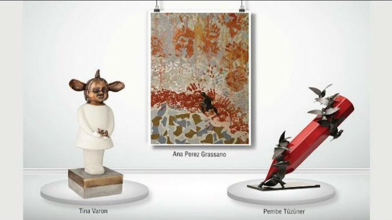 Özgür Duygular | Ana Perez Grassano | Pembe Tüzüner | Tina Varon | Ekavart Gallery