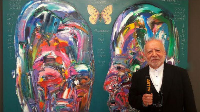 Ergin İnan | 50. Sanat Yılı, İzmir | Ekol Sanat Galerisi