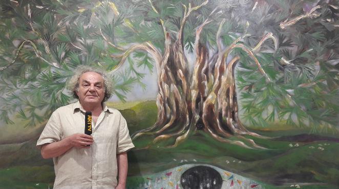 Muzaffer Akyol | Ayvalık Aşkım - Zeytin Ağacımın Türküsü | Orhan Peker Sanat Galerisi