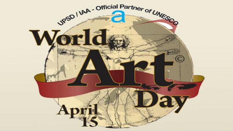 Uluslararası Plastik Sanatlar Derneği Dünya Sanat Günü'nü Kutluyor!