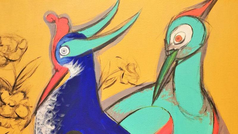 Nerkiz Akçura ve Atölyesi | Efsane Kuşlar: Kuş uçar hikâyesi kalır | ART212 Sanat Galerisi