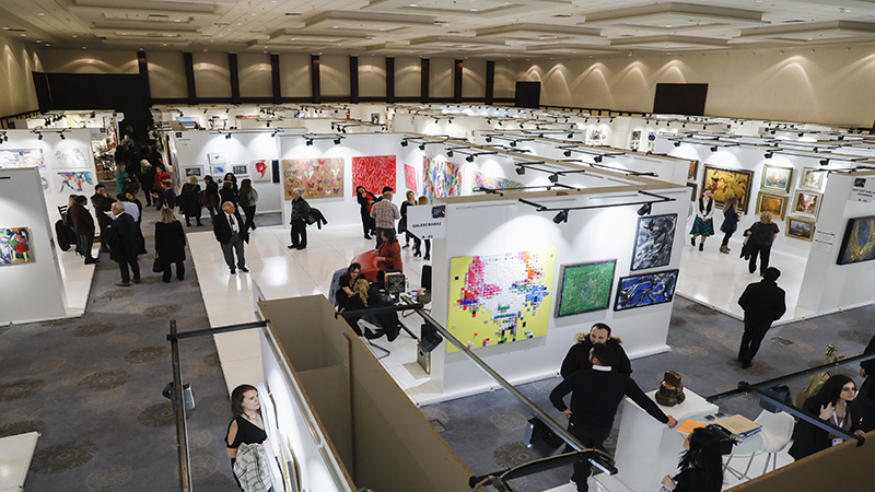 İstanbul Art Show 2018 | İstanbul Hilton Exhibition Center