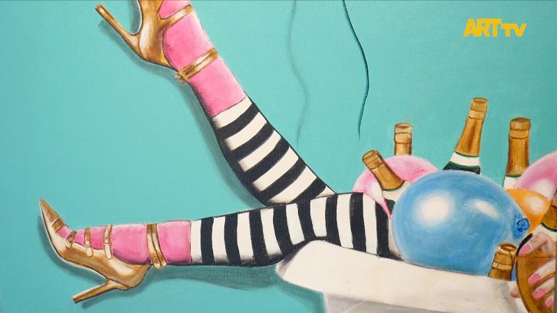 Esra Meral | Harikalar Diyarına Gider - Goes To Wonderland | F Sanat Galerisi