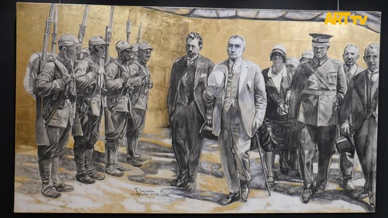 Ergün Başar | Atatürk: İz Bırakan İlkler | Dev Portreler | İzmir Kültür Park Atlas Pavyonu