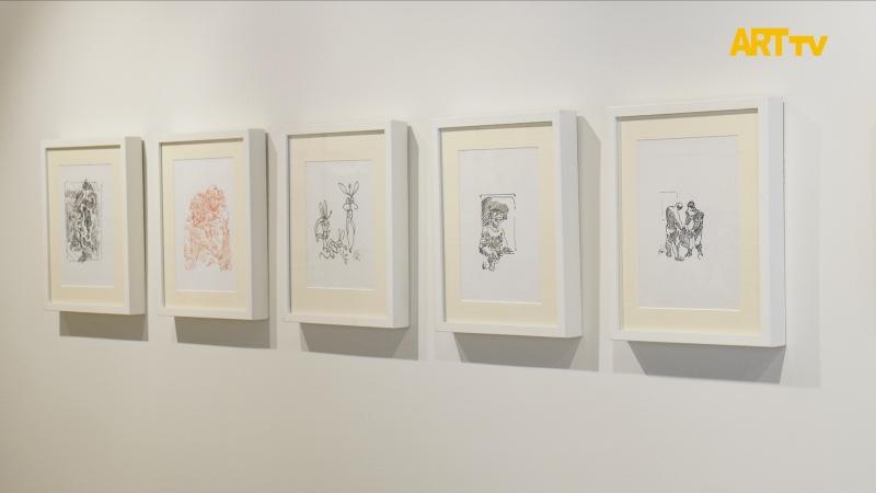 Galeri Selvin | Abidin Dino | Kara İçinde Ak Bir Umut | ARTtv