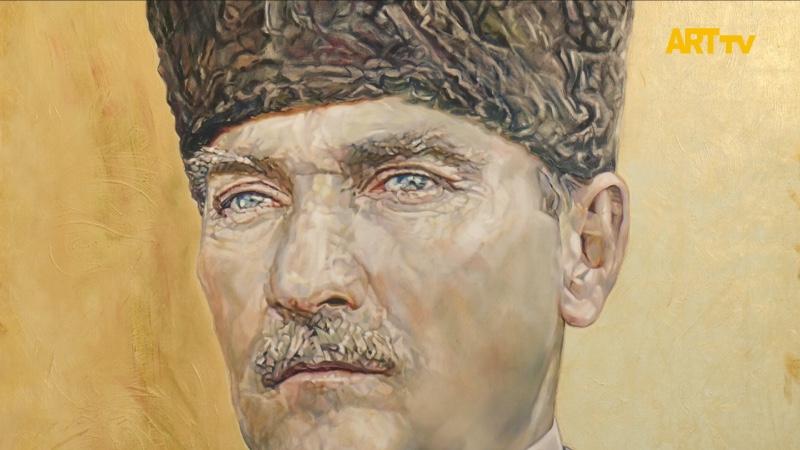 Ergün Başar | 'Atatürk: İz Bırakan İlkler' Dev Portreler | Çankaya Belediyesi Doğan Taşdelen Çağdaş Sanatlar Merkezi